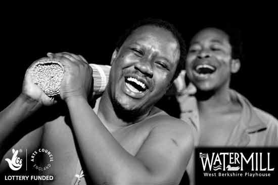 Tonderai Munyebvu and Denton Chikura in Kupenga Kwa Hamlet